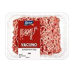 ROLER preparado de carne picada de vacuno bandeja 500 gr