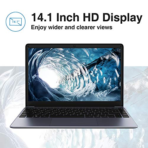 Product Image 5: CHUWI Herobook Pro 14.1 inch Windows 10 Intel N4000 Dual Core 8GB RAM 256GB ROM Notebook,Thin and Lightweight Laptop,BT4.0 (Herobook Pro (Herobook Pro(2020))
