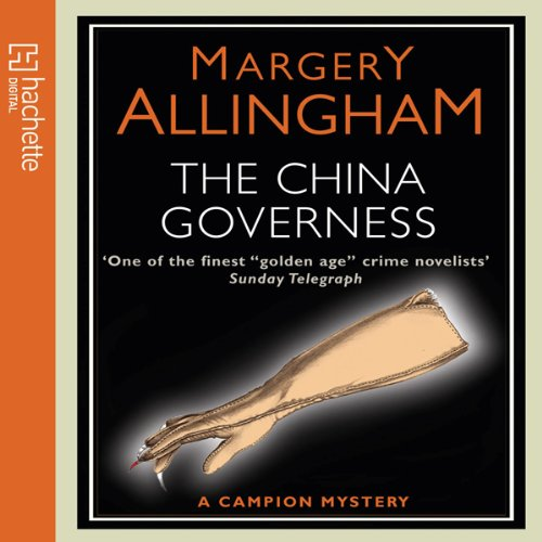 The China Governess audiobook cover art