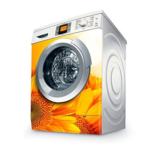 setecientosgramos Vinilo Lavadora | Stickers Washing Machine| Pegatina Lavadora | Girasol