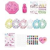 Nail Art Creative Nail Boutique Kit Enfants Nail Stickers Patches Vernis à Ongles Jouets pour Les Enfants Great Fun