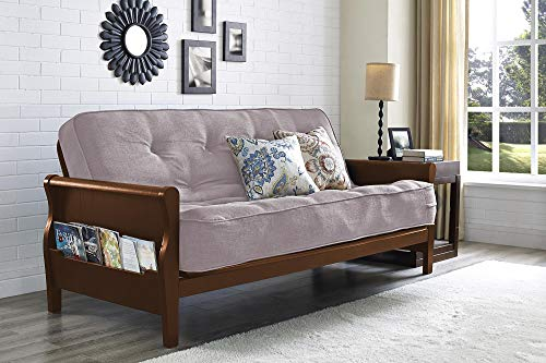 DHP Tan Linen Mattress, Frame Not Included, Full