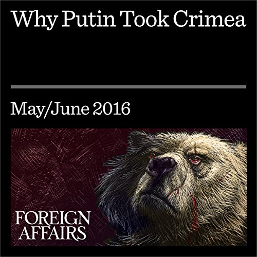 Why Putin Took Crimea audiobook cover art