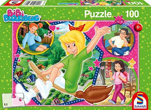 Schmidt Spiele 56399 Bibi Bloxberg, Hex, 100 Teile Kinderpuzzle