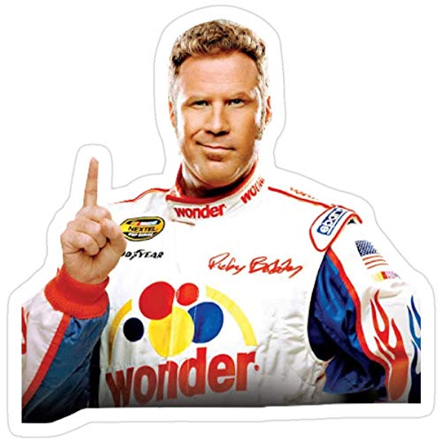 MrMint Stickers Ricky Bobby Car Decals 3x4 Inch (3 Pcs/Pack)