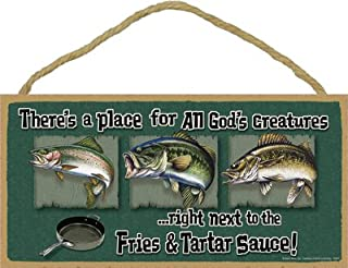 SJT ENTERPRISES, INC. There's a Place for All God's Creatures .Right Next to The Fries & Tartar Sauce (Fresh Water Fish) ...