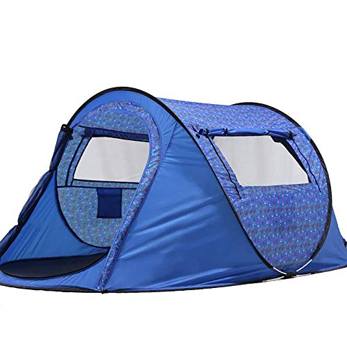 Lightweight Tent,Pop Up Tent for 2 3 4 Person Automatic Tent Easy to Set up 100% UV Waterproof Canopy for Camping