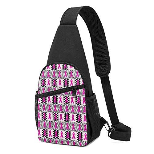 AOOEDM Sling Bags For Men Small Ties Crossbody Backpack Shoulder Daypacks Multipurpose Running Wrinkle Resistance Fanny Chest Packs