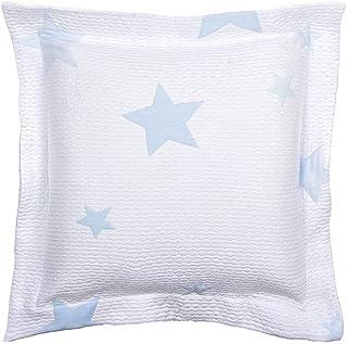 MI CASA 45X45 Azul F.COJIN Estrella New, 58% Algodón, 42% Poliéster