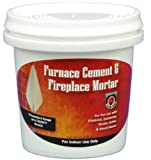 MEECO'S RED DEVIL 1352 Furnace Cement and Fireplace Mortar...
