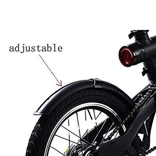 JVSISM para Qicycle EF1 Guardabarros de Bicicleta el/éctrica y Soporte de Guardabarros para salpicadero de neum/áticos