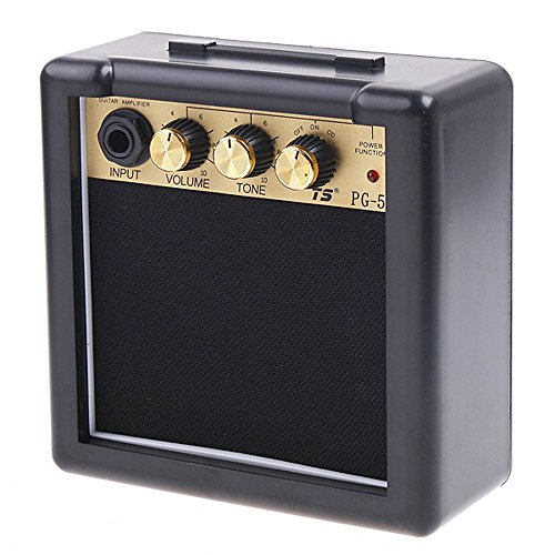 Andoer Electric Guitar Amp Amplifier Speaker Volume Tone Control (PG-5 5W)