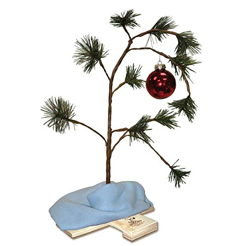 "The Original Peanuts 18"" Charlie Brown Christmas Tree with Linus' Blanket by Peanuts [並行輸入品]"