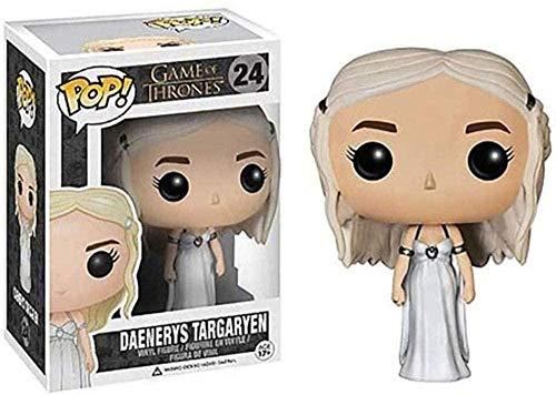 JANBLICA Pop Vinilo Estatuilla de acción Juego de Tronos figurilla Pop: Daenerys Adornos Targaryen Ornamentos Vinilo Figurilla 10 cm