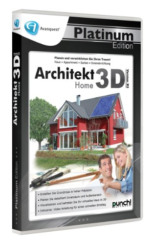 AQ Plat Ed. - Architekt 3D X5 Home