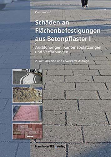 Schäden an Flächenbefestigungen aus Betonpflaster I.: Ausblühungen, Kantenabplatzungen und Verfärbungen.: Ausblhungen, Kantenabplatzungen und Verfrbungen.