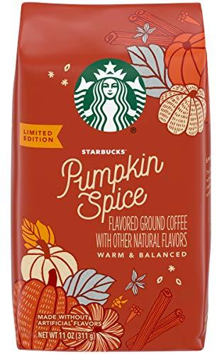 Starbucks Pumpkin Spice Flavoured Ground Coffee 11oz (311g)
