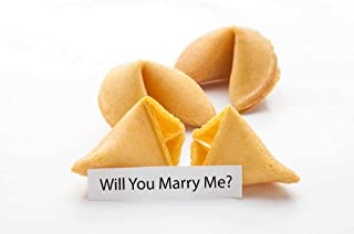 """""""Will You Marry Me?"""" Fortune Cookies - Individually Wrapped - (12 Cookies)"""