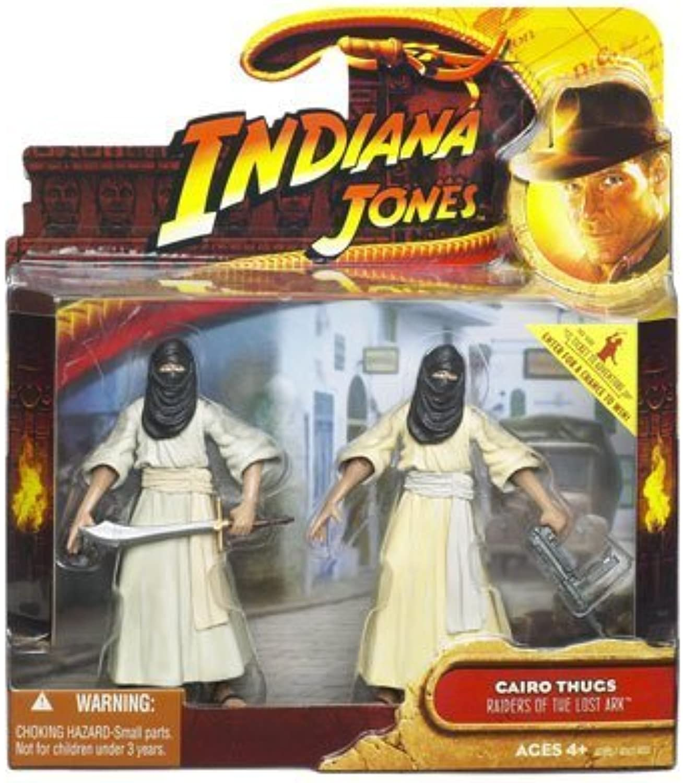 Indiana Jones Movie Deluxe Action Figure Cairo Thugs 2-Pack by Indiana Jones
