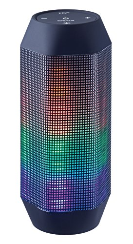 Craig Electronics CMA3594-OD Stereo Portable Speaker with Color Charging Lights and Bluetooth Technology
