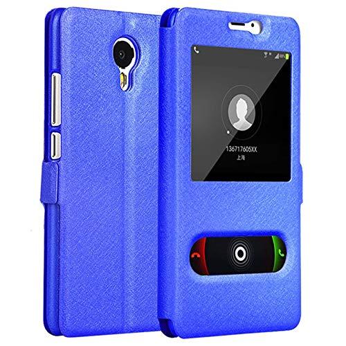 QiuKui For Xiaomi redmi Nota 2 3 4 5 6 7 Pro 3S, Libro del tirón del Cuero del Caso del Soporte de Lujo Ver la Cubierta del Protector for Xiaomi redmi 4X 4A 5A 6A Plus
