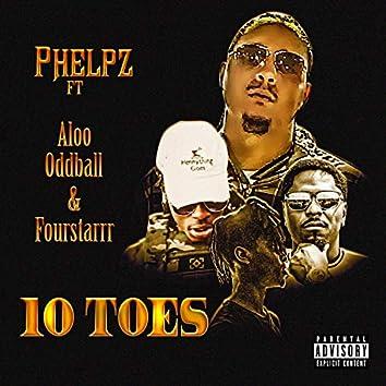 10 Toes (feat. Aloo Oddball & Fourstarrr)