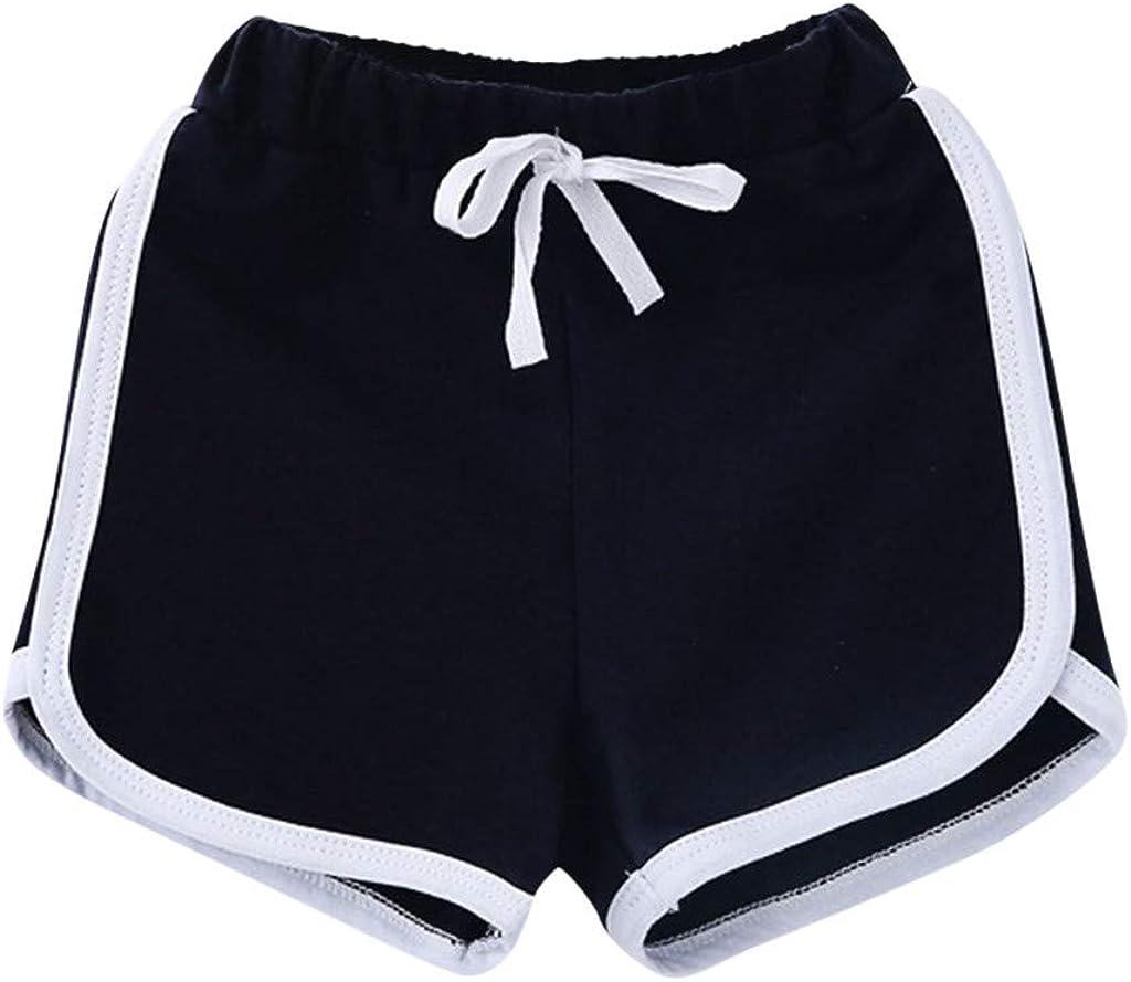 Nippon regular agency iCJJL Girls Sport Shorts Solid Color Yoga Worko New Shipping Free Comfort Athletic