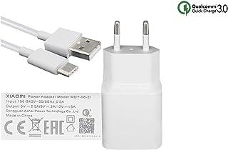MDY-08-EI (18W) USB-C QC3.0 Cargador Rápido Compatible con Xiaomi Mi 6, Mi 8 SE, Mi MAX 3, Pocophone F1, Mi 8 Lite, Blanco