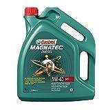 Castrol 055125 Huile Moteur Magnatec Diesel 5W-40 DPF, 5 L, Marron
