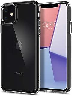 Spigen Crystal Hybrid Serisi Kılıf iPhone 11 ile Uyumlu / TPU AirCushion Teknoloji / Ekstra Koruma - Crystal Clear