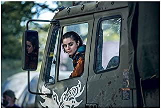 Into the Badlands Ally Ionnides as Tilda looking back from truck 8 x 10 Inch Photo