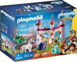 Playmobil - Playmobil The Movie Marla et Château Enchanté  - 70077
