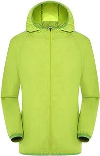 Sunward Stylish Coat for Men,Men's Women Casual Jackets Windproof Ultra-Light Rainproof Windbreaker Top