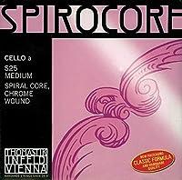 Thomastik-Infeld S32st Spirocore Cello Strings Single G String Stark (Heavy) Tension 4/4 Size Steel Core Tungsten Wound [並行輸入品]