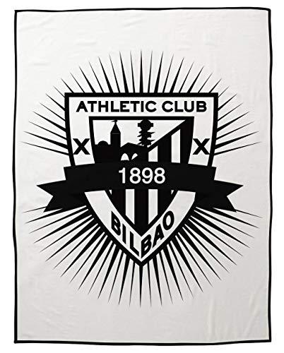 Manta Rachel Athletic Club de Bilbao 130x170 - Manta de Viaj