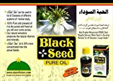 Star of Islam Black Seed Oil 2 Fl oz Pure and Cold Pressed Nigella Sativa Black Seed Cumin for Treatment of Various Condition