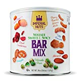 Wasabi Sweet & Spicy Bar Mix Featuring Spicy Peanuts, Dried Cranberries, Pretzels, Wasabi Peas, Almonds, Toffee Peanuts, Honey Roasted Sesame Sticks. THE PERFECT SNACK Wasabi Sweet & Spicy Bar Mix is perfect for any occasion, corporate, birthday part...