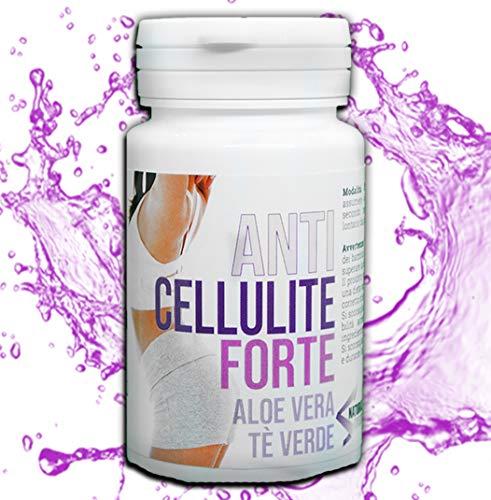 AntiCellulite Forte: Integratore Naturale Anti Cellulite, fat burner, termogenico-No Massaggi Anticellulite, no Fascia. Dimagrante Naturale, Vegan friendly, Senza caffeina e Senza Glutine
