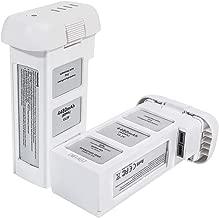 Phantom 3 Battery, Mr.Batt Intelligent Flight Battery for DJI Phantom 3 Standard, DJI Phantom 3 Pro, DJI Phantom 3 Advanced, DJI Phantom 3 4K, DJI Phantom 3 SE Drone, 15.2V 4840mAh, 2 Pack