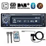 PolarLander DAB Receiver Car Radio Stereo Autoradio Support AM FM RDS Bluetooth USB