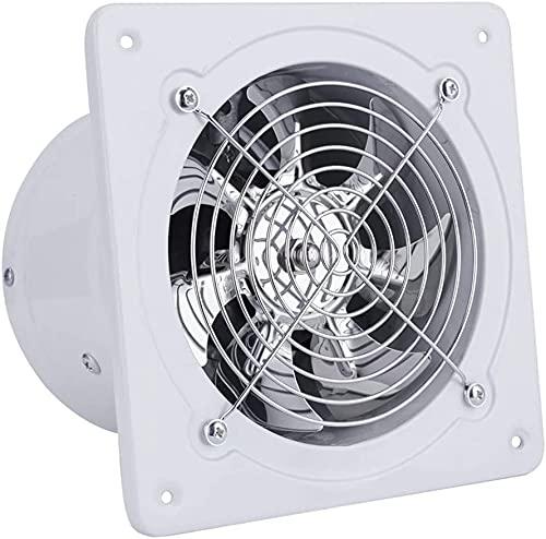 Ø 200 mm Wandlüfter Ventilator Wandventilator Badlüfter Abluftventilator Leise Weiß für Küche Bad WC, Luftvolumen: 1050 m³ / h