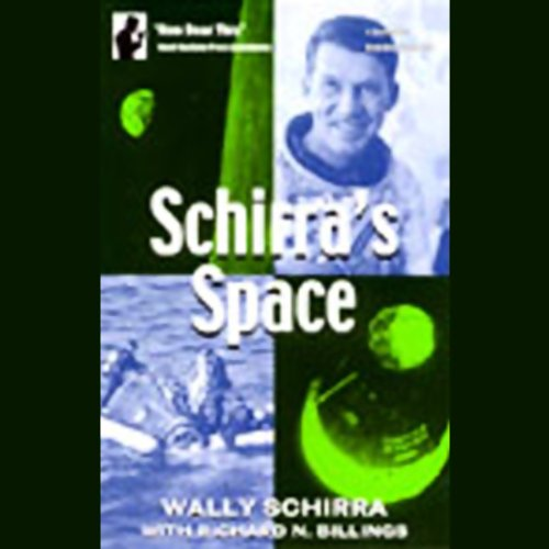 Schirra's Space audiobook cover art
