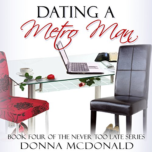Dating a Metro Man audiobook cover art
