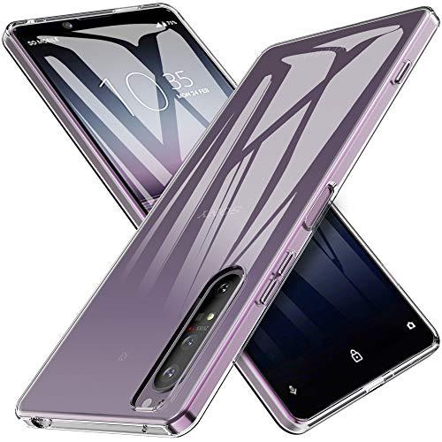 iBetter für Sony Xperia 1 II Hülle, Soft TPU Ultra Thin Cover Handyhülle Stoßfest Anti-Scratch Slim-Fit Shock Absorption Hülle passt für Sony Xperia 1 II Smartphone, klar