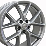 OE Wheels LLC 19 inch Rim Fits Nissan Maxima Wheel NS20 19x8 Silver Wheel Hollander 62512
