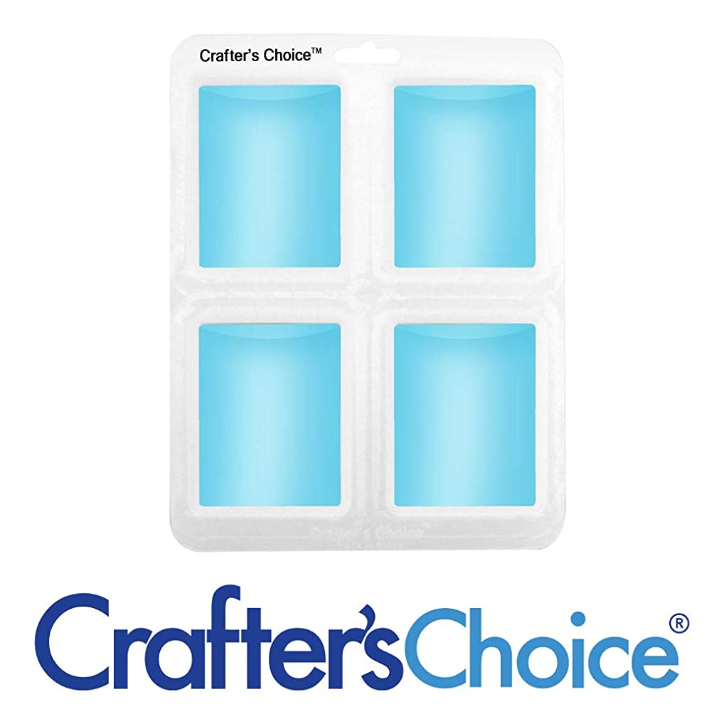 Crafter's Choice Euro Round Silicone Homemade Soap Making Mold 1614 sqthmjf33227602