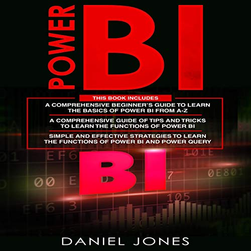 Power BI: 3 in 1 cover art