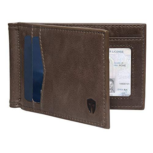 RFID Blocking Slim Minimalist ID Inside Front Pocket Wallet