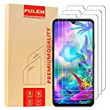 [3-Pack] PULEN Screen Protector for LG G8X ThinQ (Not Work with The LG Dual Screen),HD Clear Anti-Scratch No Bubble 9H Hardness Tempered Glass (Clear)
