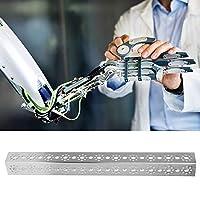 21穴Uビームアルミニウムチャネル、ロボット玩具アクセサリ、アルミニウムチャネルロボット部品はTetrixrobotics 352 x 32 x 32mmに適合、TETRIXと互換性あり、2 mm
